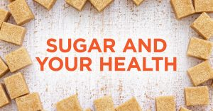 Sugar affects the body and health