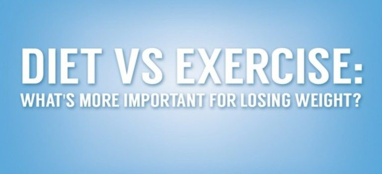 Dieting Vs Exercise